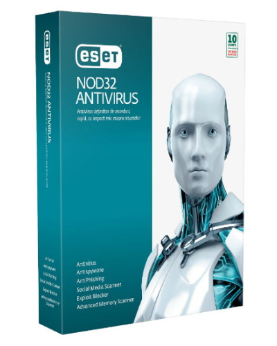 ESET NOD32 Smart (internet) Security 1ГОД - 1PC